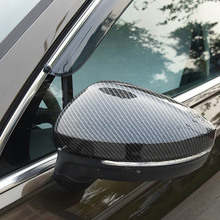 Free Shipping High quality Motor Car Automobile Rearview Mirror Cover For 2017 Volkswagen VW Tiguan L стоимость
