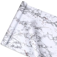 vinyl self adhesive marble wallpaper peel off and stick marble sticker pattern for kitchen and bathroom in roll size 0.45*10m