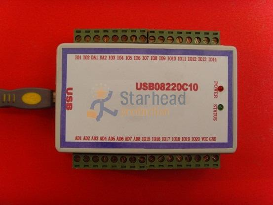 Data Acquisition Card : Usb daq data acquisition card channels analog input a d