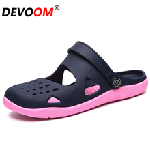 2019 Summer Women Outdoor Garden Clogs Shoes Hollow zuecos mujer Sandals Women Jelly Shoes Slippers
