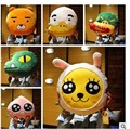 Free shipping  Newest design Korea Cartoon faces Kakao frineds Kobito Ryan cushion Pillow 40*40cm Plush toys.best gift for child