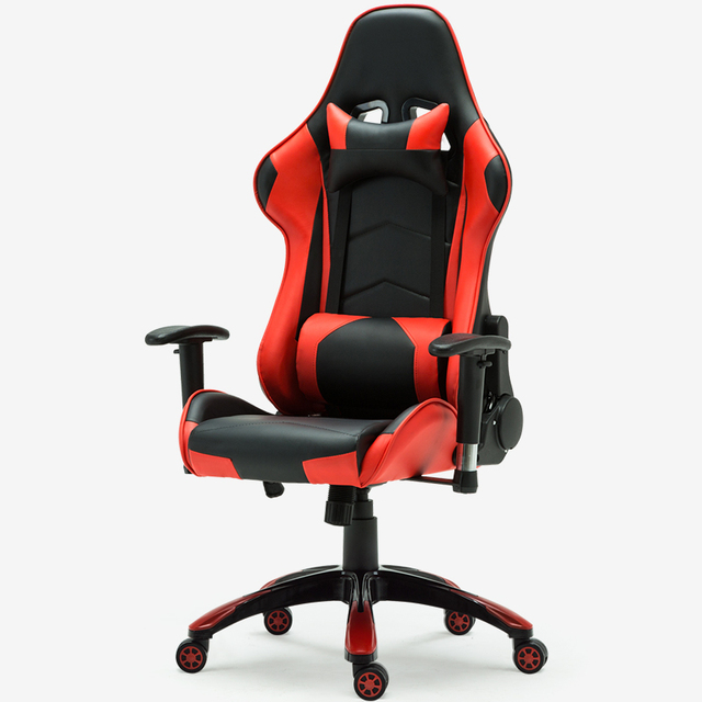 ferrari office chair french club chairs for sale bortran gaming with black and red color by factory direct racing headrest big lumber support