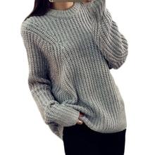 Winter O-Neck Loose Casual Women Sweater Batwing Pullover Oversize Jumper Pull Crochet Ladies Tops Knitwear MF895621