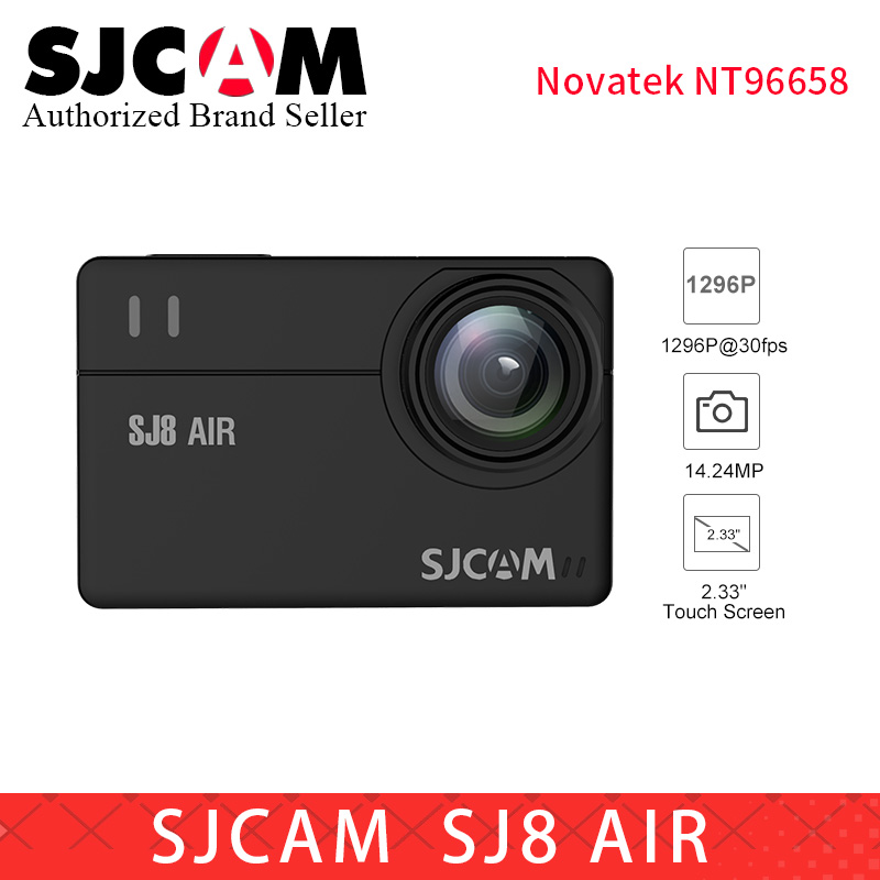 SJCAM SJ8 Series wifi Action Camera SJ8 Air 14MP 2.33 Touch Screen go pro Waterproof Sports DV pk SJ8 Pro yi 4k cam eken h9R sjcam sj8 pro белый
