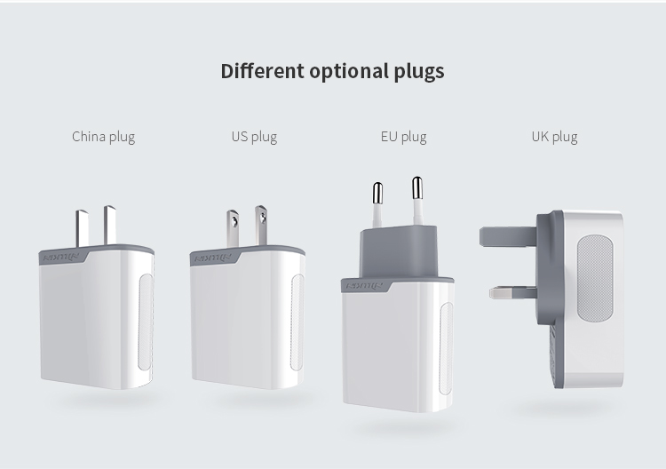 Image 5 - Nillkin QC 3.0 Phone USB Charger 3A Fast Charger US EU UK Travel Charger USB Wall Phone Charger for xiaomi OnePlus 7 AC adapter-in Mobile Phone Chargers from Cellphones & Telecommunications