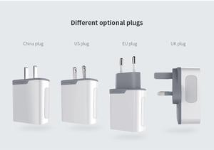 Image 5 - Nillkin qc 3.0 電話 USB 充電器 3A 急速充電器米国、 EU 、英国旅行充電器 USB ウォール電話の充電器 xiaomi ため onePlus 7 AC アダプタ