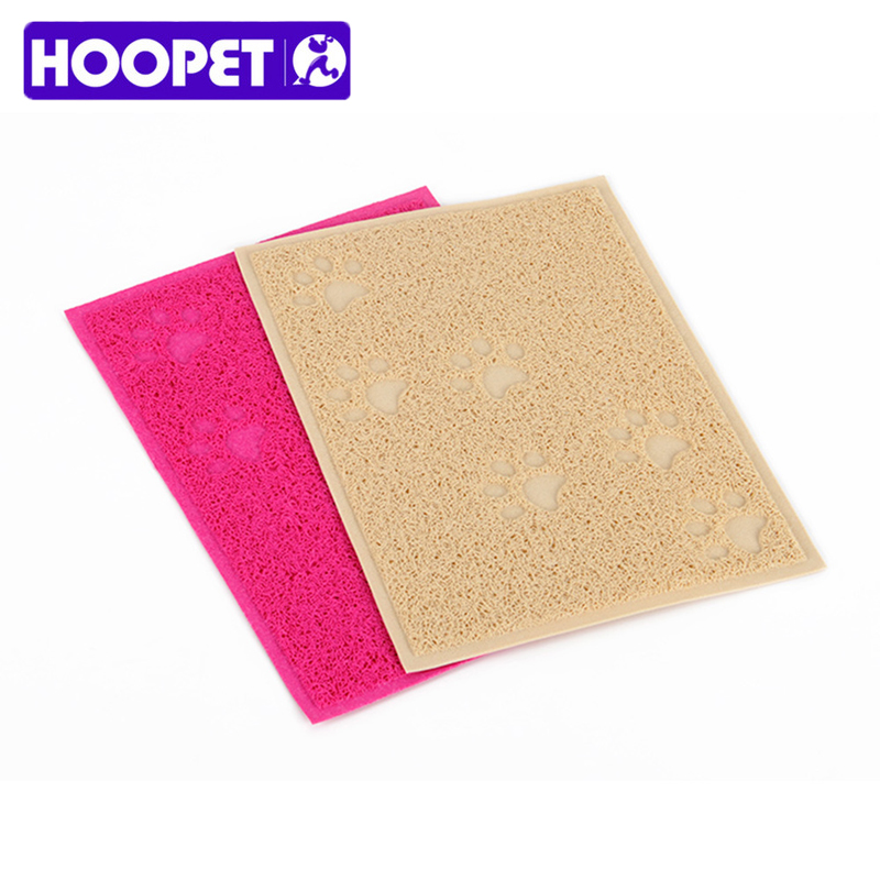 Dog Training Placemat: Hoopet Pet Dog Cat Food Mat Feeding Bowl Pad PVC Elastic