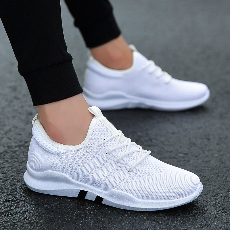Image 2 - Light Casual Shoes Men Sneakers Spring Shoes Men 2019 Warm Shoes Jogging Casual Men Shoe Fashion Chaussure Homme Large Size36 47Mens Casual Shoes   -