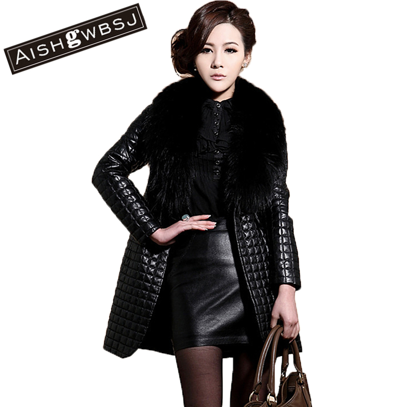 QMGOOD Frauen Leder Jacken und Mäntel Rot Schwarz Leder Jacke Faux Leder PU Plus Größe Jacken für Frauen 4xl 5xl 6xl Winter