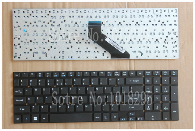 English Keyboard for Acer Aspire   KB.I170A.402 KB.I170G.310 MP-10K33US MP-10K33US-5281 MP-10K33US-6981W US Keyboard