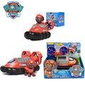 Paw Patrol Zuma Patrol Cars Genuine Patrulla Canina PVC Doll Action Figure Model Toy Child Birthday Gift Boys