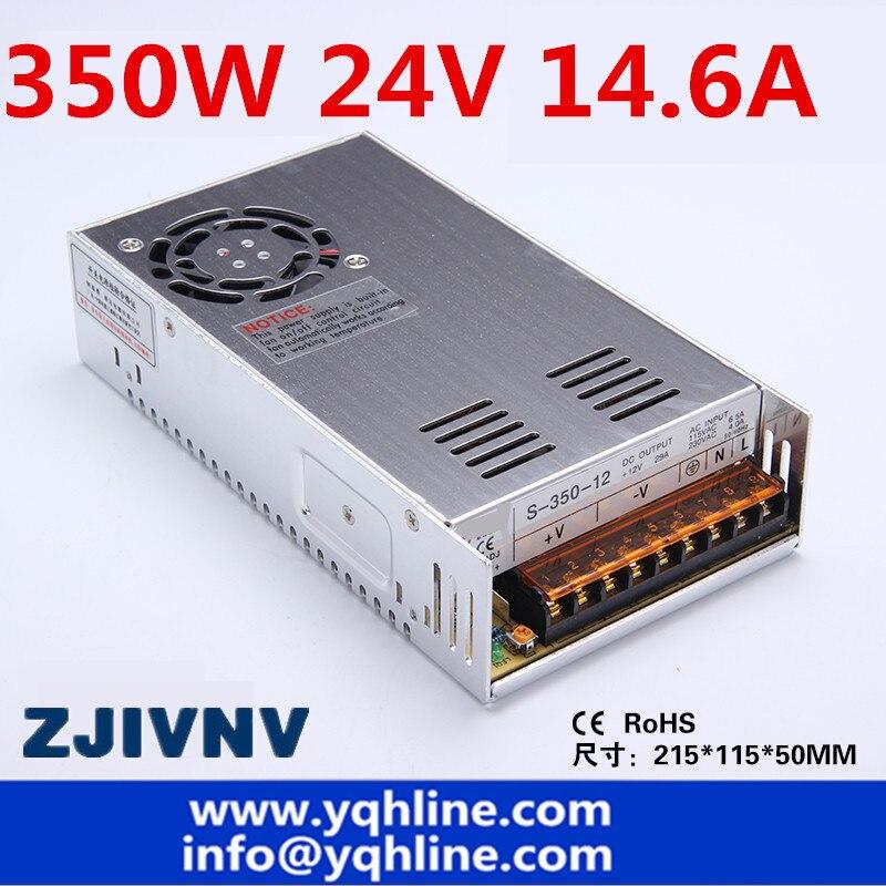 (S-350-24) Alimentation à découpage 350 w 24V14. 6A AC/DC Transformateur Pilote Intérieur pour Machine CNC DIY, LED, Etc .. 24 volts
