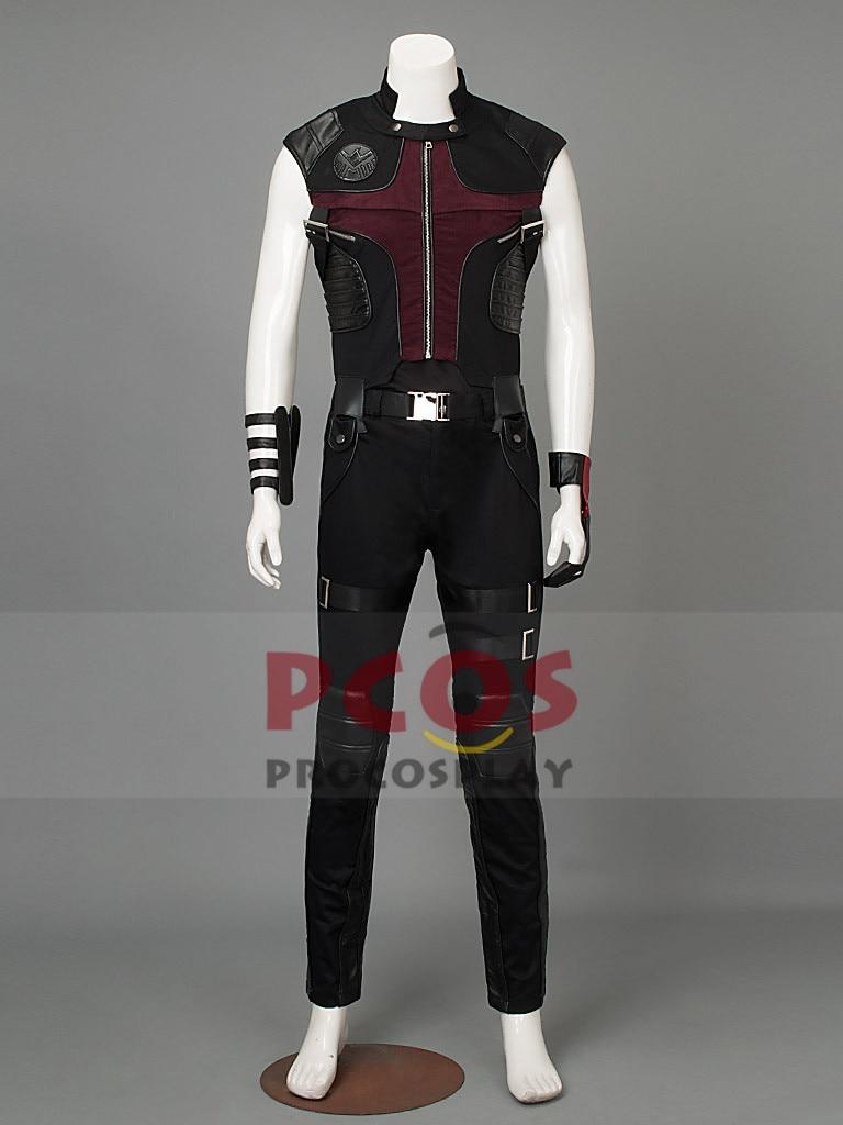 The Avengers Hawkeye Clint Barton Cosplay Costume Custom mp000812