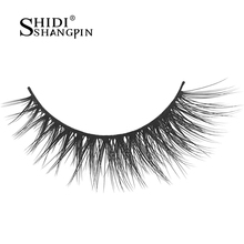3 Pairs 3D mink lashes handmade fake lashes makeup false eyelashes makeup 3D mink eyelashes strip eyelash extension X15
