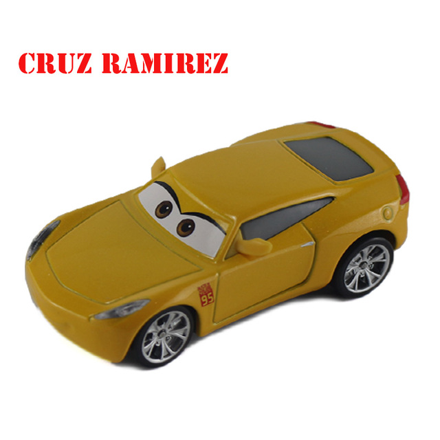 Disney Pix Coche Ar 3 Cruz Ramirez Juguetes Para Ninos De Aleacion