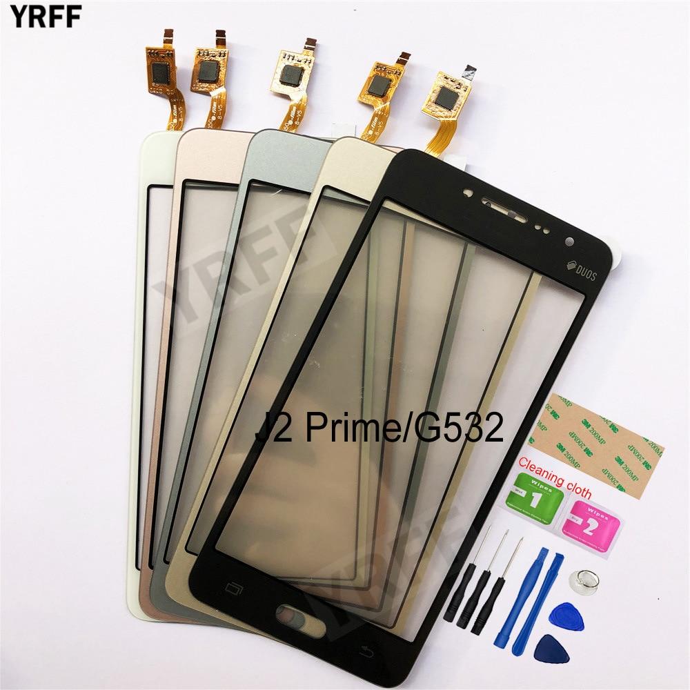 5,0 Für Samsung Galaxy J2 Prime Duos SM-G532 G532 Touchscreen Digitizer Sensor Touch Glas Objektiv Panel
