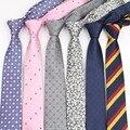 Para hombre de Negocios Lazo Formal Diseñador de Rayas Jacquard Corbata Estrecha Corbata de Boda Clásica Corbata Gravata Corbatas Oficial No.1-20