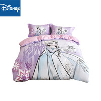 Frozen Elsa Princess twin size comforter bedding set for girls queen size bed sheets duvet covers 3/4pcs 3D Printing hot sale