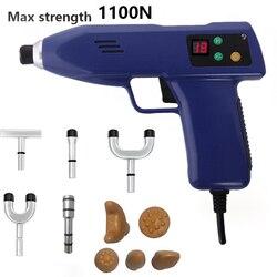 NEUE 13 Ebenen Chiropraktik Anpassung Instrument 10 Heads einstellbare intensität Therapie Elektrische Korrektur Pistole Aktivator Massager