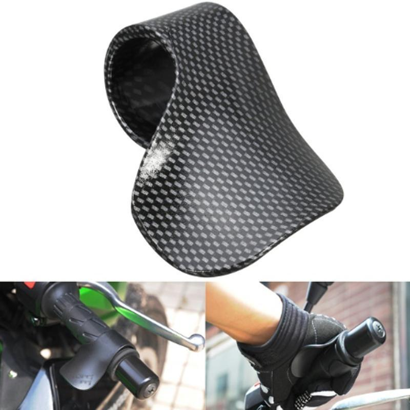 New Motorcycle Cruise Assist Hand Rest Throttle Accelerator Control Rocker Grips Universal #281367(China)