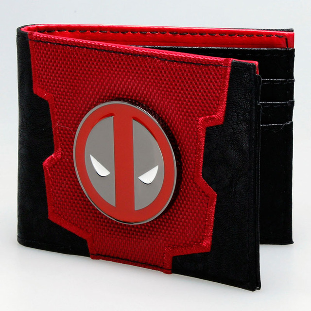Deadpool Marvel de Doble Pliegue Billetera En Caja DFT-1837