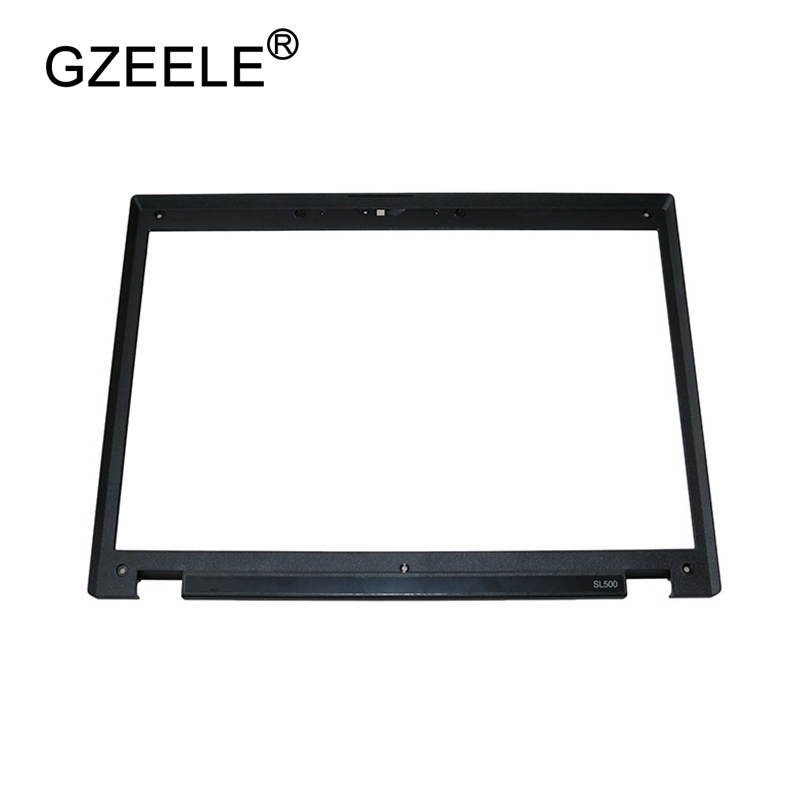 GZEELE New For Lenovo For ThinkPad Sl500 LCD Front Shell Bezel Cover B Cover Black 43Y9687 Laptop Replace Cover