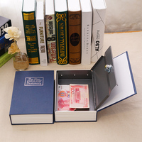 Imitation book safe mini storage money piggy bank password box paper money storing dictionary oversized with lock
