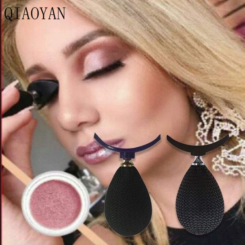 QIAOYAN Hot Fashion Mini Lazy <font><b>Eye</b></font> <font><b>Shadow</b></font> <font><b>Applicator</b></font> Silicon eyeshadow stamp crease popular For makeup image