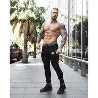 Running Pants Mens Boys Gym Workout Fitness Training Pants Sport Men's Sweatpants Body building Joggers boxing Skinny Trousers