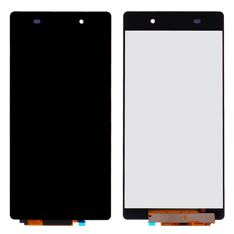 LCD Touch Screen Digitizer Glass for Sony Xperia Z2 D6502 D6503 D6543 purple black options for sony xperia z2 l50w d6502 d6503 d6543 card slot port micro sd usb dust plug cove tracking