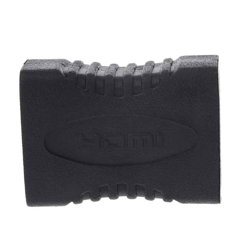 Wysokiej jakości czarny HDMI kobieta na złącze żeńskie HDMI Extender HDMI kabel Adapter przedłużający konwerter 1080P