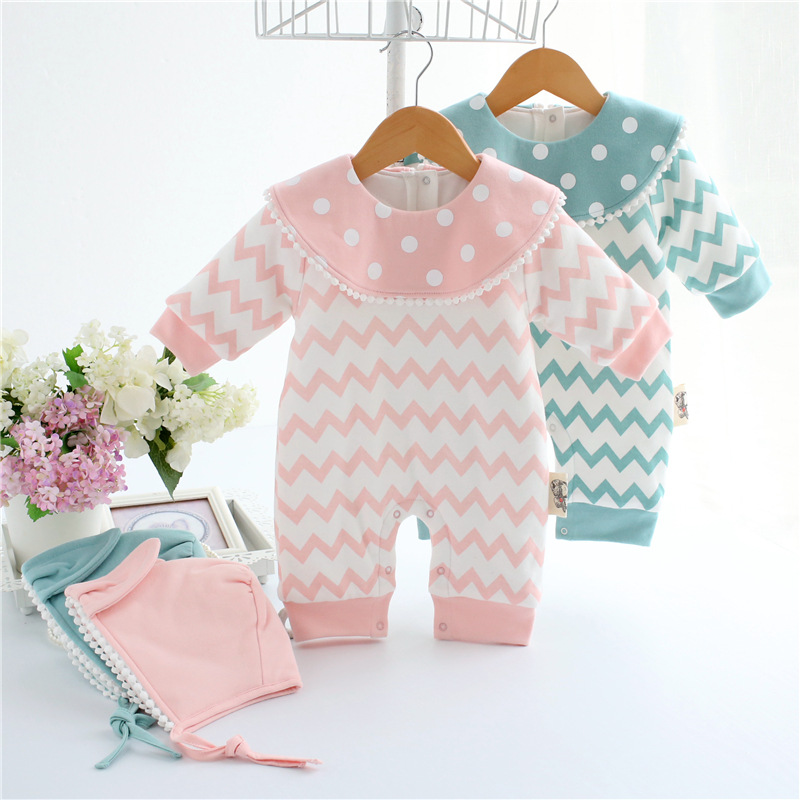 newborn baby winter clothes romper set cotton baby clothing for girls boys striped rompers infant long sleeve product bebek baby clothes newborn boys and girls jumpsuits long sleeve 100%cotton solid turn down baby rompers infant baby clothing product