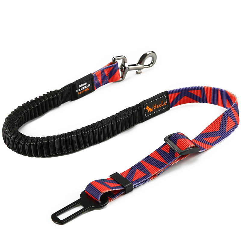 DannyKarl New 2019 Pet Leash Dog Car Safety Belt Safety Rope Telescopic Pet Car Explosion Proof Fixed Belt Car Traction Rope in Leashes from Home Garden