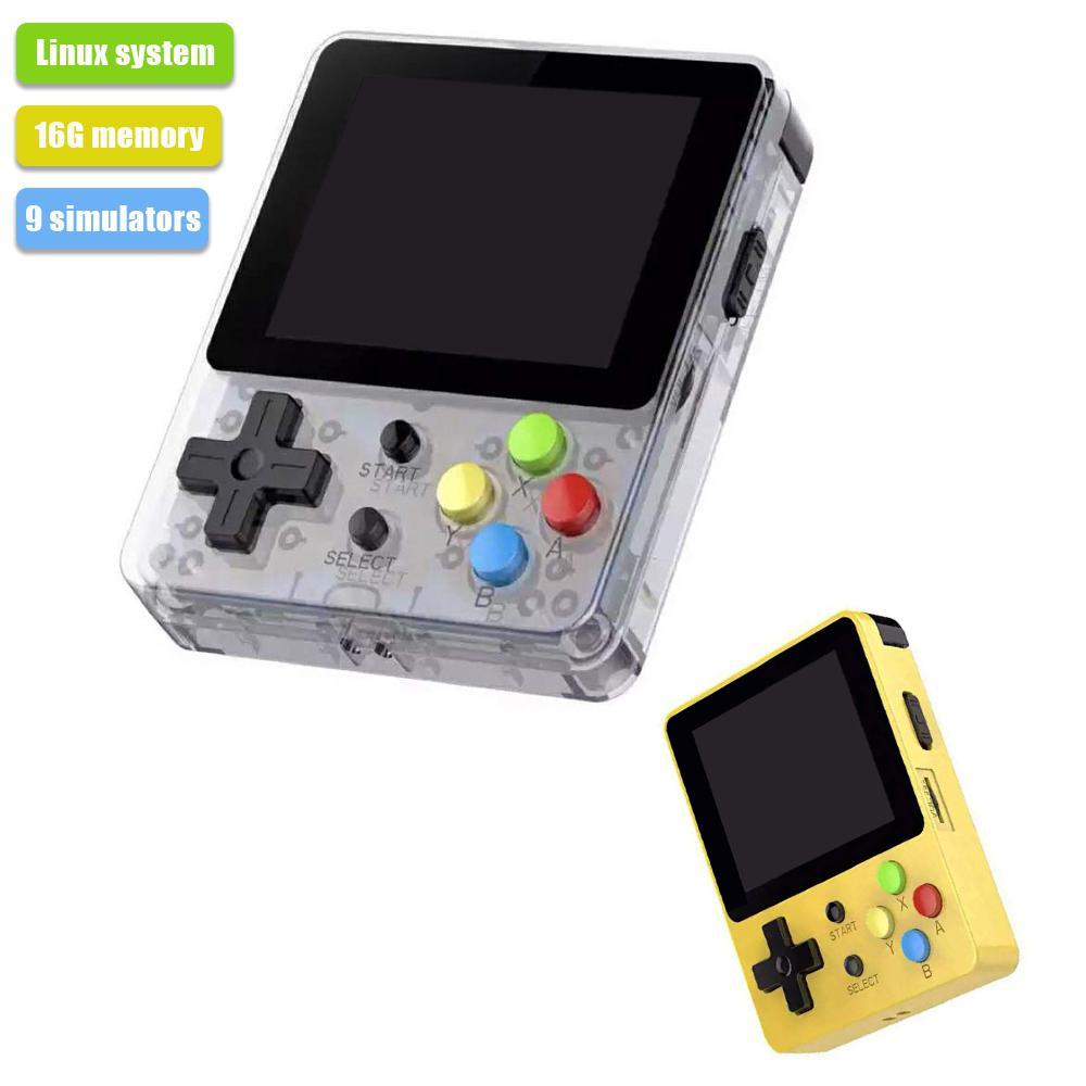 HobbyLane Mini Console de jeu portable 2.6 pouces écran enfants jeu rétro Mini famille TV Console de jeu vidéo d20