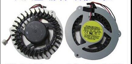 Nuevo ventilador de la CPU del ordenador portátil para SAMSUNG R463 R467 R468 R470 R517 R518 R519 R520 R522 R468 R425 Q208 Q210 Q318 q320 DFS531005MC0T F81G