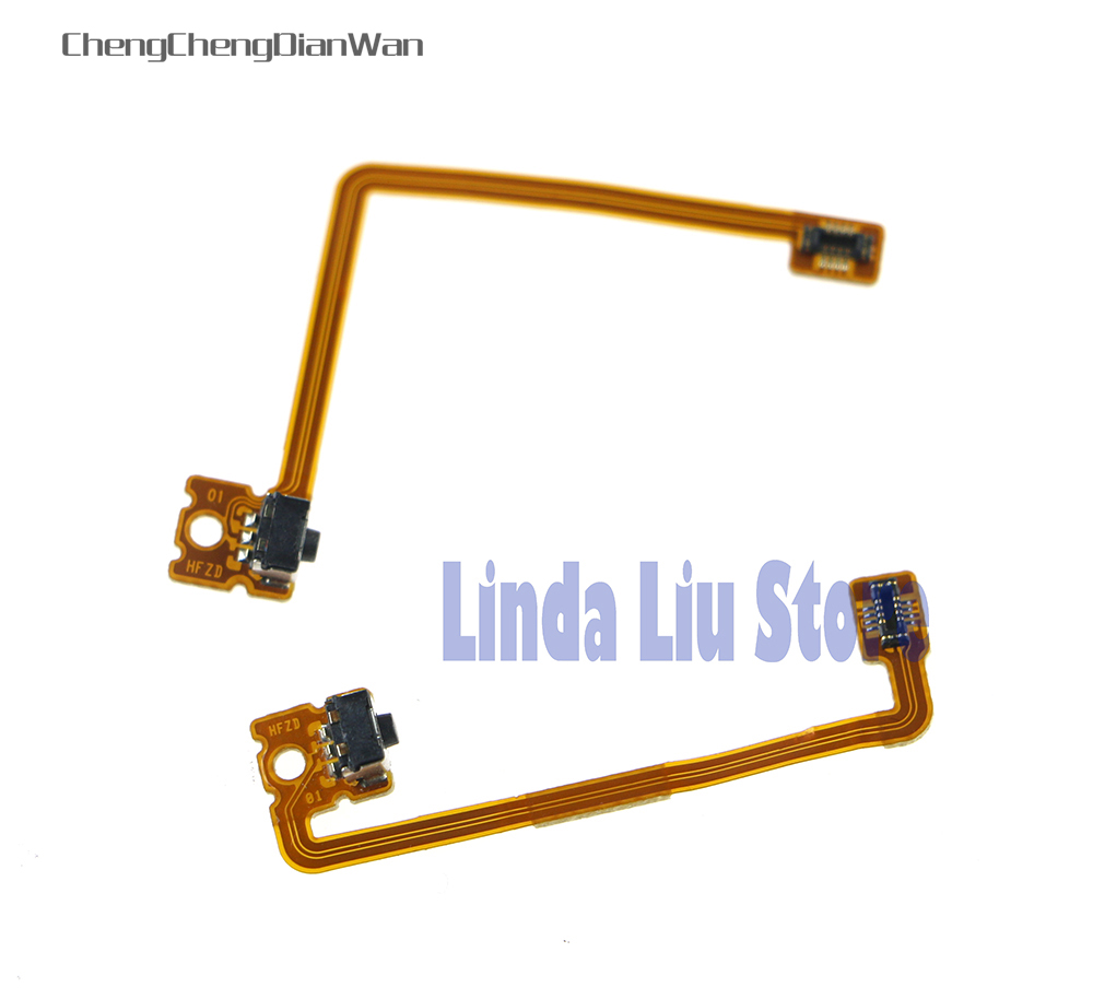ChengChengDianWan 10sets/lot L/R Trigger Button Shoulder Flex Ribbon Cable Replacement for 3DS XL 3DS LL Game Console