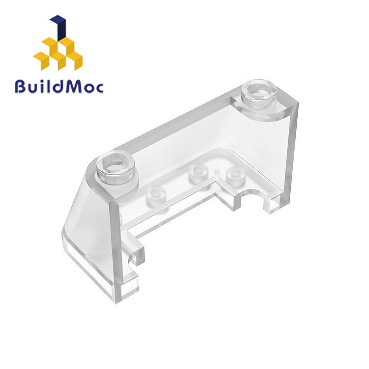 BuildMOC Compatible  Assembles Particles 3823 2x4x2For Building Blocks Parts DIY Enlighten Block Bricks Educational Gift Toys