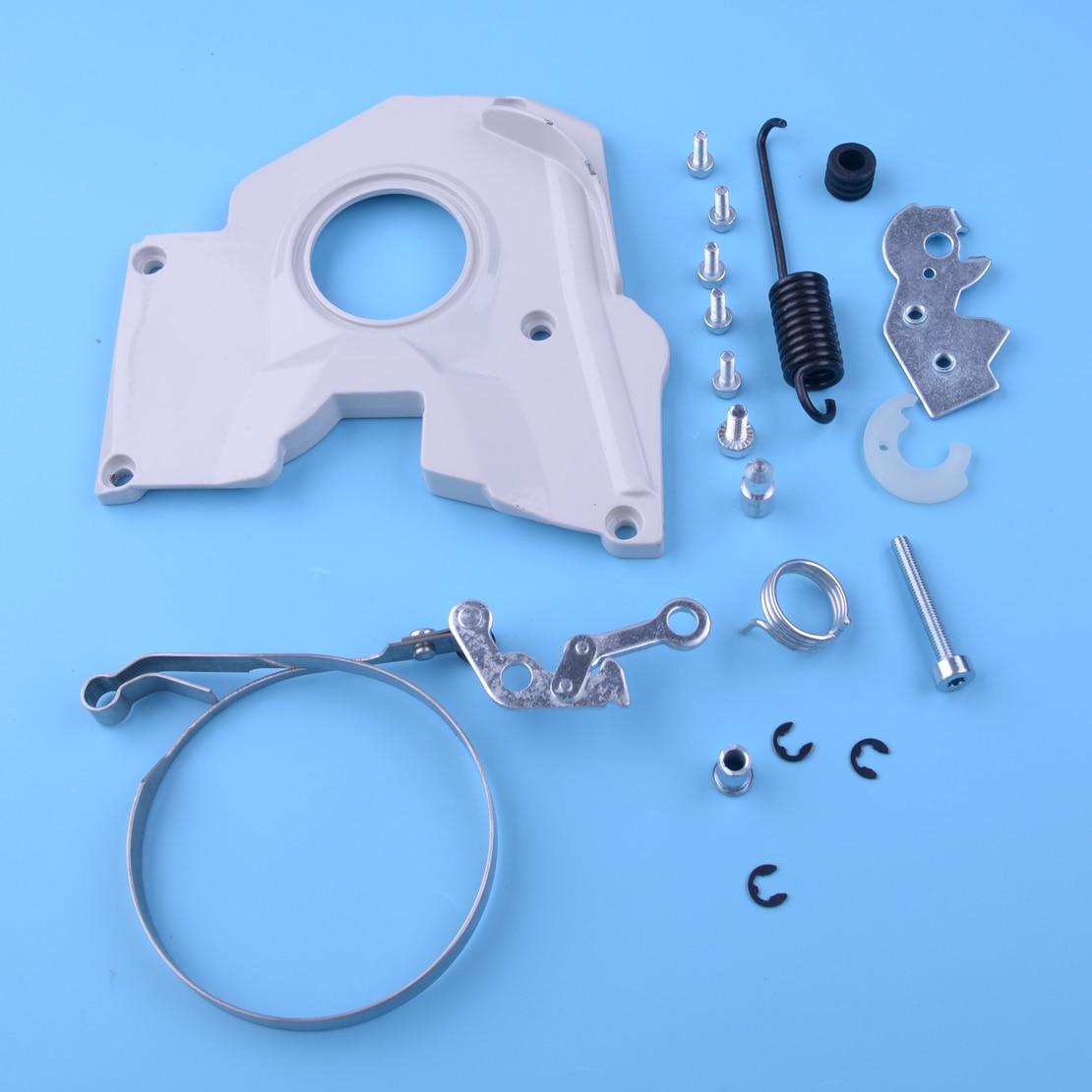 LETAOSK Chain Brake Cover Band Level Spring Kit Adjuster Assy Fit For Stihl 038 038 AV MAGNUM MS380 Chainsaw 1119 021 1102