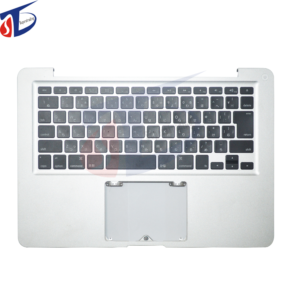 original for macbook pro 13inch A1278 Japan JP Japanese keyboard topcase top cover Palmrest with backlight backlit 2012year jp japan keybord for asus zenbook ux390 ux390ua with backlit keyboard jp layout