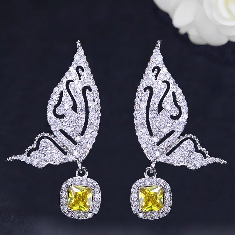 Butterfly Drop Earrings-2