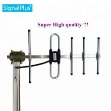 433MHz antena yagi 10dBi 5 elementów wysokiej jakości z 30cm kablem n żeńskim lub niestandardowym złączem