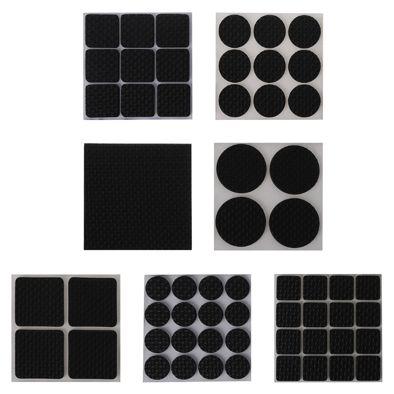 New High Quality Best Self Adhesive Anti-Slip Furniture Pad Stopper Rubber Feet Floor Protector