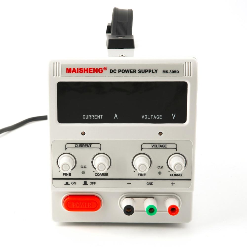 DC ajustável 30 V 5A Dupla Digital de Precisão Variável Lab Grade Branco DC fonte de Alimentação de Venda Quente