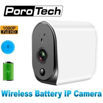 IP Camera wireless 1080P Battery Camera Support max 32GB Cloud storage wifi Camera with rectangle video two-way Audio detector