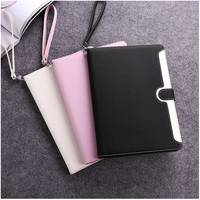 Smart Tablet Case For Ipad Air 2 High Quality PU Leather Buckle Sleeve For Ipad 6