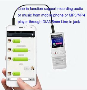 Image 5 - Escytegr 16GB Colorful Screen Voice Activated Recorder 1536KBPS Recording Digital Voice Recorder MP3 Music Player Dictaphone