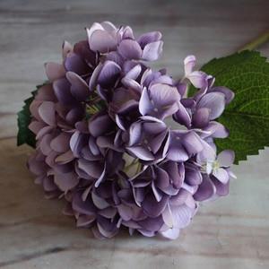 Image 1 - Fashion Artificial Hydrangea Flower Silk Cloth Plastic Wedding Supplies DIY Home Decoration For Birthday Party Festival Gift