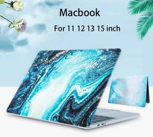 Marble Laptop Case For Apple MacBook Pro Retina Air 11 12 13 15 Mac Book 15.4 13.3 Inch With Touch Bar Shell Sleeve Cover