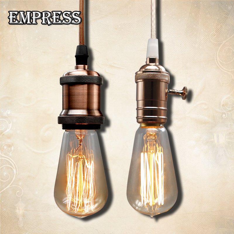 ST58 220V lampadine incandescenza vintage light bulb edison lamp portalampade vintage con attacco e27 edison bulb lighting retro