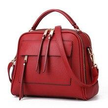2019 Fashion High Quality Women Leather Handbag Women's Shoulder Bag Messenger Bag Top-Handle Luxury Handbags Lady Bags Designer недорого